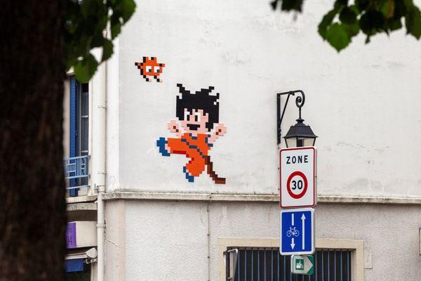 Le San Goku du 12eme arrondissement fait partie des oeuvres disparues.