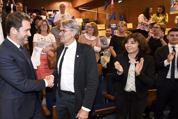 Le ministre de l'intérieur Christophe Castaner est venu discrètement à Toulouse pour une réunion publique
