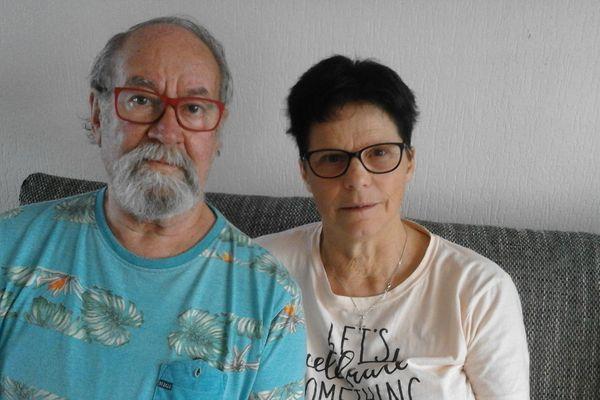 Gabriel et Jacqueline Baudry, 75 et 64 ans.