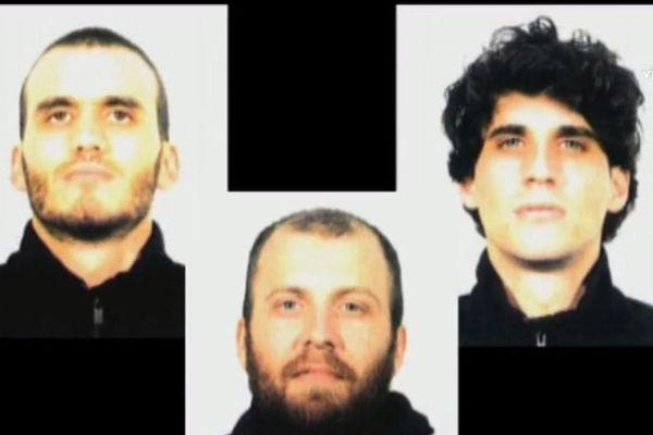 Richard Guazzelli (à gauche) Christophe Guazzelli (à droite) et Christophe Andreani (au centre).