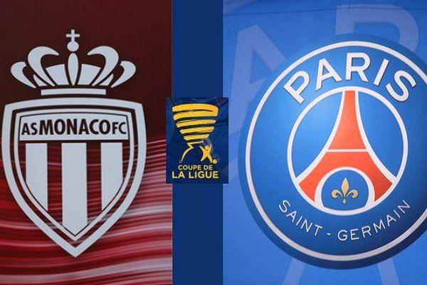 La finale PSG/AS Monaco, en coupe de la Ligue