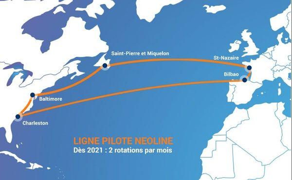 Neoline proposera deux rotations par mois entre Saint-Nazaire, Bilbao et les Etats-Unis