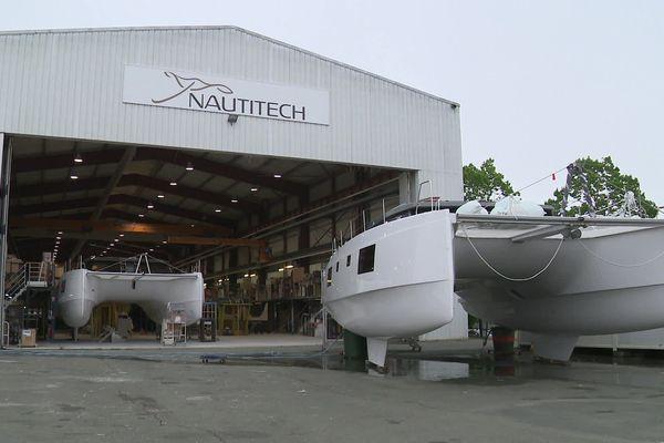 Le chantier Nautitech à Rochefort est reparti avec un quart de ses effectifs.