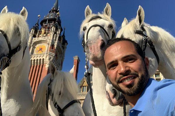Hassen Bouchakour, président de l'association Sabots du Coeur