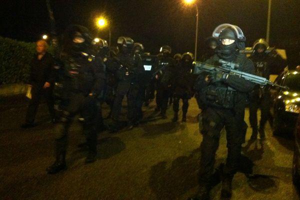 Les policiers du Raid déployés à Montauban en novembre 2015