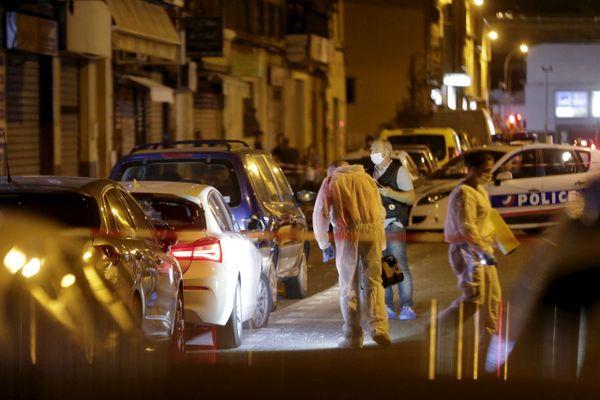 Septembre 2018, Rue Roger Salengro, 15eme arrondissement de Marseille, un homme abattu au volant de sa BMW