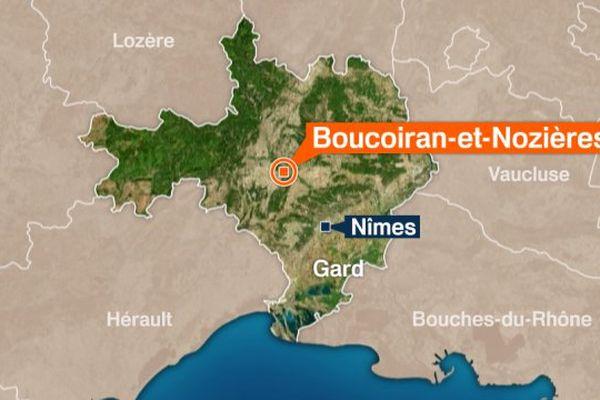 Boucoiran-et-Nozières dans le Gard