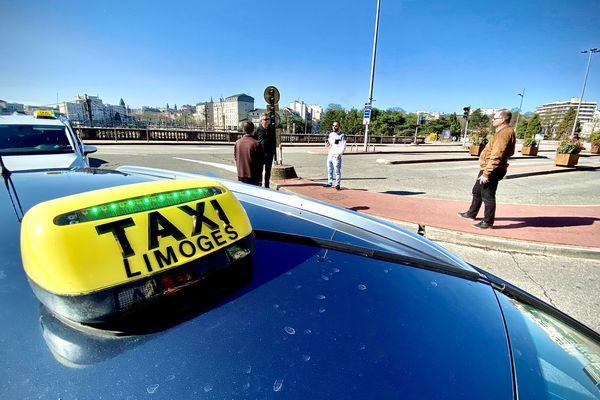 Après la crise sanitaire, les taxis de Limoges attendent la reprise d'activité