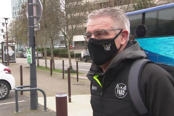 Thierry Anti, l'ex-entraîneur emblématique du HBC Nantes (21 février 2021)