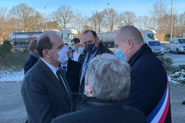 Jean Castex est en déplacement dans le Loiret ce samedi 13 février.