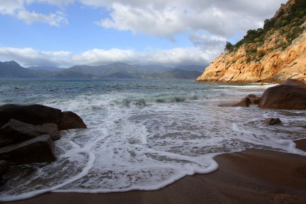 Une plage corse