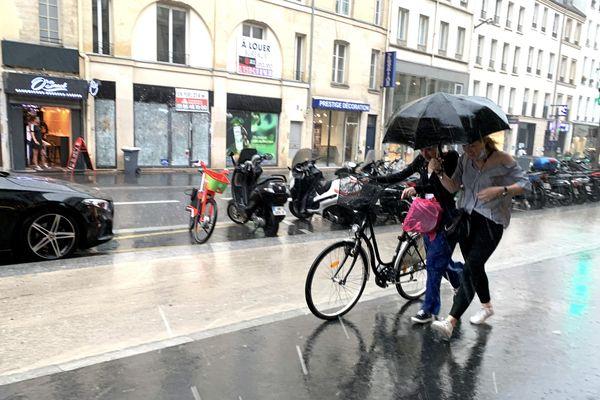Depuis plusieurs jours, des épisodes de pluie se sont succédés sur la région