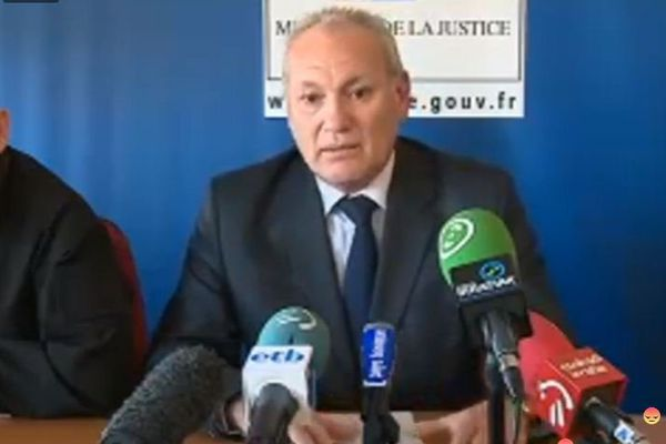 Marc Mariée, le procureur adjoint de Bayonne