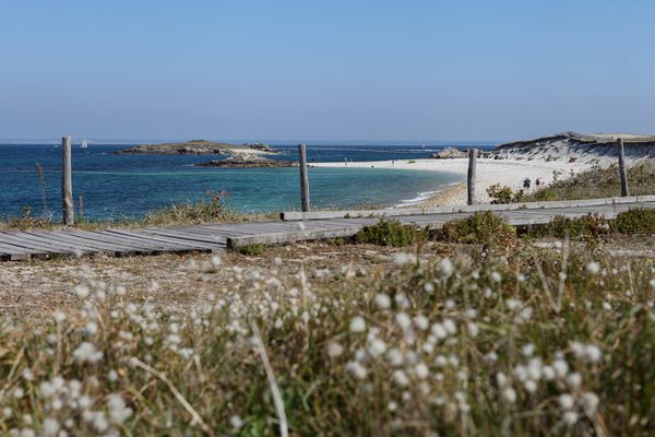 L'archipel des Glenan est habité six mois de l'année par les saisonniers dont la famille Castric