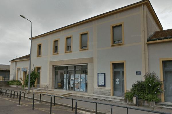La gare de Dijon Porte-Neuve