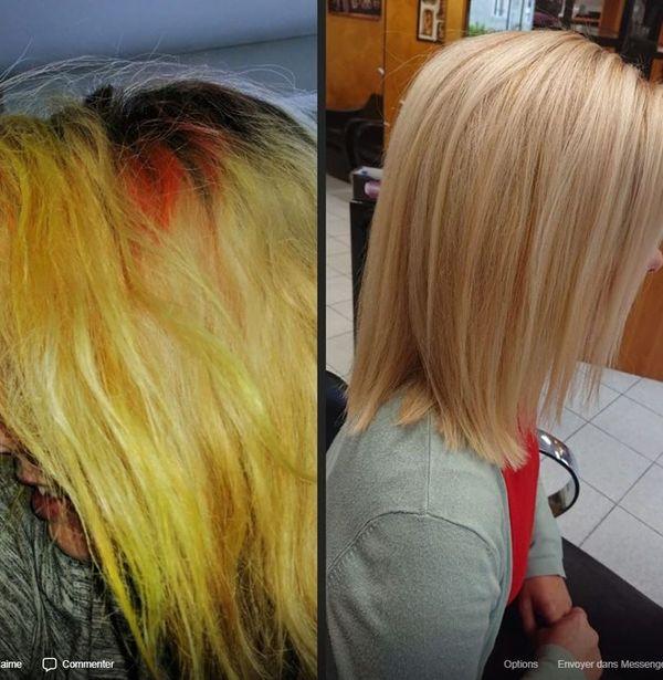 un passage chez le coiffeur a souvent raison des pigments tenaces