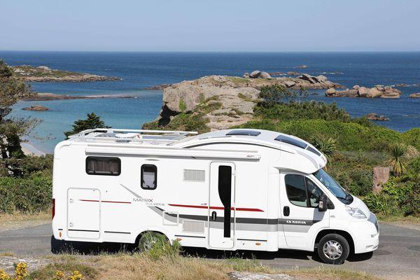 Camping-car en front de mer, la liberté pendant les vacances