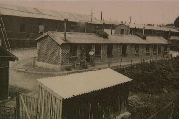 Camp d'internement de Nexon durant la seconde guerre mondiale