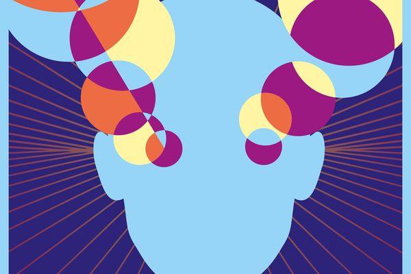 Visuel issue de l'affiche Recto Vrso, festival d'art numérique 2021