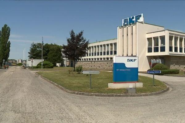 La société SKF à Lons-le-Saunier