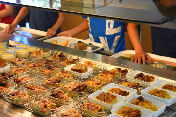 Depuis le 1er novembre, la loi Egalim prévoit la mise en place dans les cantines d'un menu végétarien une fois par semaine.