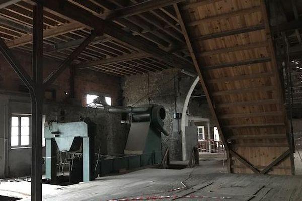 C'est ici, dans cette ancienne usine de lavage de laine, que la Cité du Cuir va s'installer