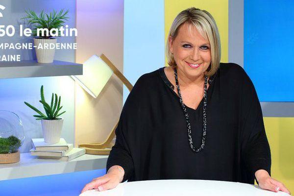 Valérie Alexandre, présentatrice de Champagne-Ardenne matin