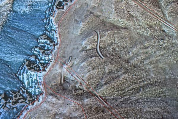 Lidar passe au laser les paysages, quelques points intéressent les archéologues sur les crêtes du Mont d'Or.