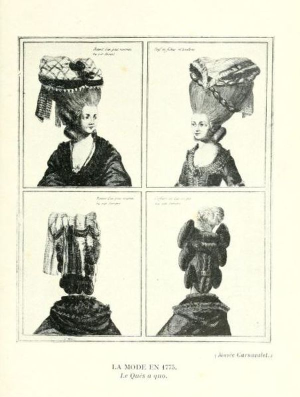 "La fameuse coiffure ""Quès aco"" créée par Rose Bertin"