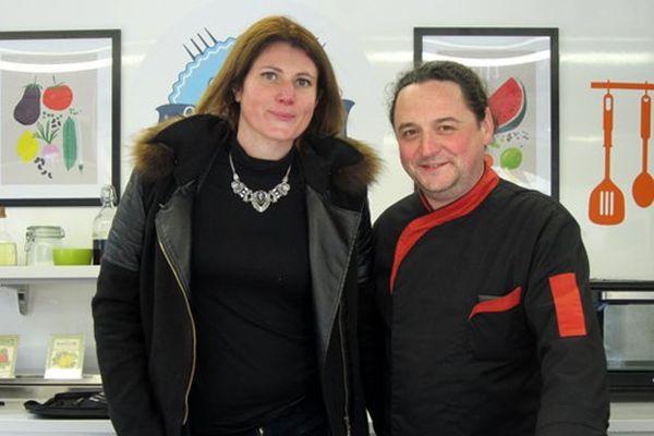 Jessica Schweitzer et Romain Deplaine