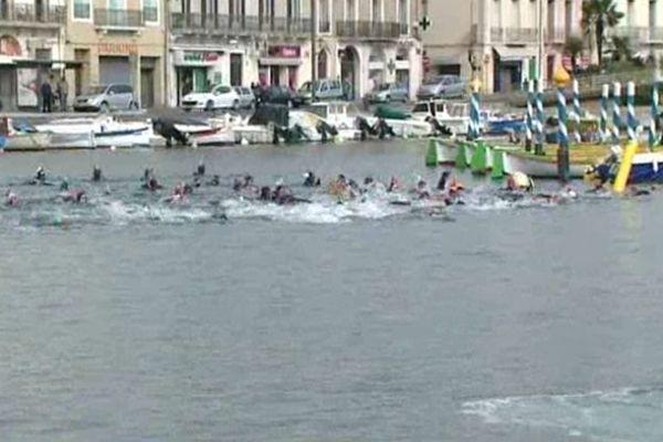 Sète (Hérault ) - 44e traversée à la nage - 28 avril 2013.