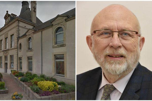 Mairie de St Brice-Courcelles. Le maire Alain Lescouet, 75 ans, est décédé vendredi 27 mars, des suites du COVID19.
