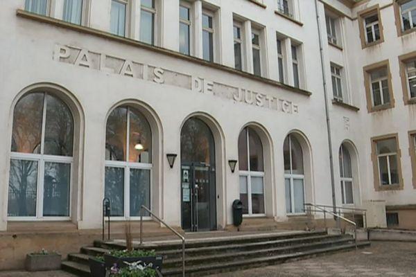 Le palais de justice de Thionville.