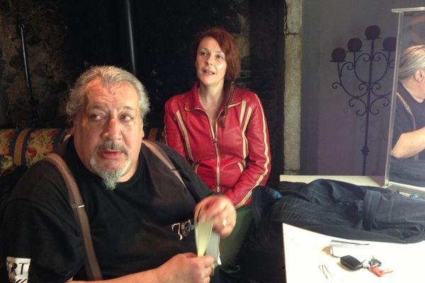 JC Dreyfus et Sheila O'Connor dans les loges