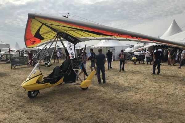 600 machines seront exposées jusqu'à dimanche 5 septembre au soir à l'aérodrome de Blois-Le Breuil dans le Loir-et-Cher