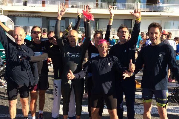 Les équipes de France 3 Pays de la Loire aussi au Tri Relais Entreprises du triathlon de La Baule