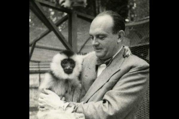 """Une photo de Jean Delacour, visible à l'exposition """"Journal d'un explorateur"""" au Parc de Clères."""