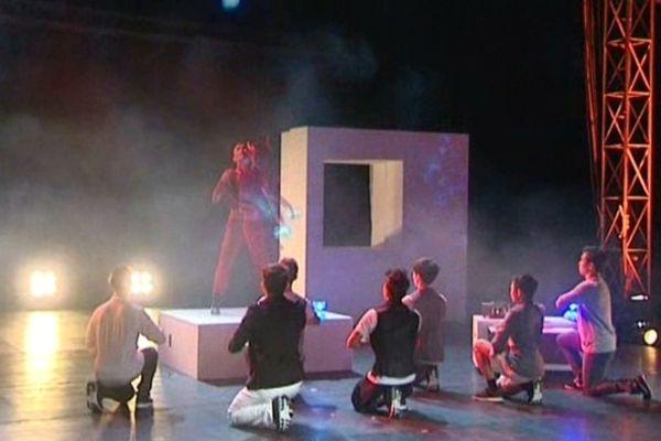 Une troupe venue de Taïwan a assuré l'ouverture du festival