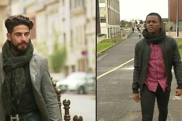 Ces deux étudiants étrangers poursuivent leurs études à Reims