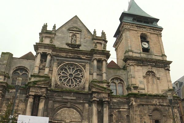 Deux millions d'euros de travaux pour l'église Sait Rémy à Dieppe.