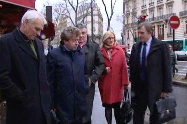 La délégation gardoise à Paris