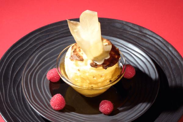 Recette d'Anne Alassane : soufflé de fromage blanc à la pomme