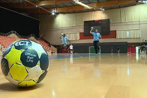 Le CDB à l'entraînement au Palais des sports de Dijon