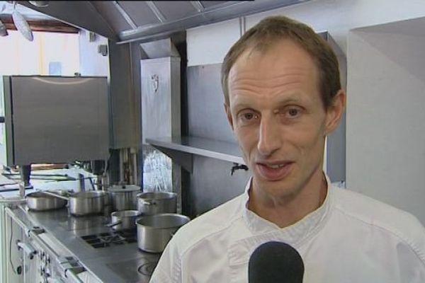 Le chef étoilé, François Moureaux, concourra pour le Bocuse d'Or 2015