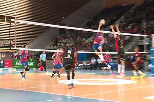 Chaumont s'impose face à Ajaccio 3 sets à 1.