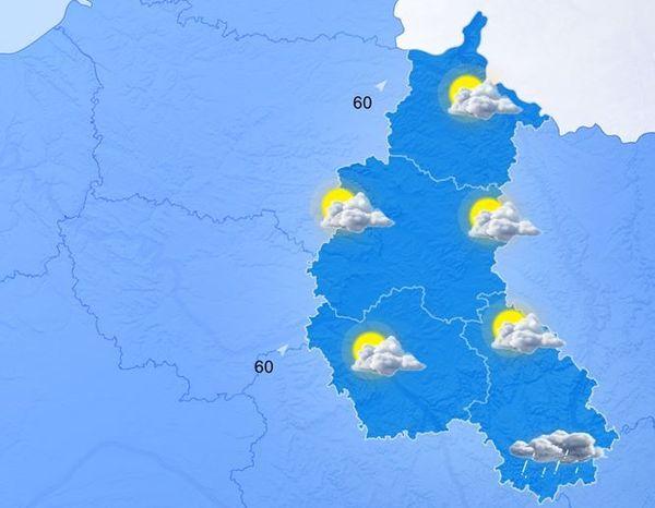 Un vendredi sous la pluie en Champagne-Ardenne
