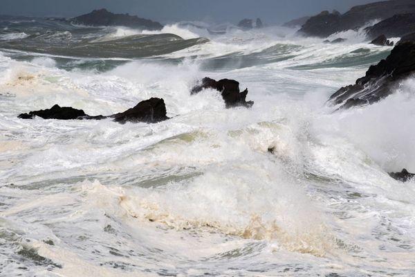 Sur le littoral finistérien, les vents pourront atteindre 130 km/h ce vendredi après-midi