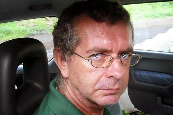 Le Français Philippe Verdon, le 6 janvier 2004 à Moroni (Comores
