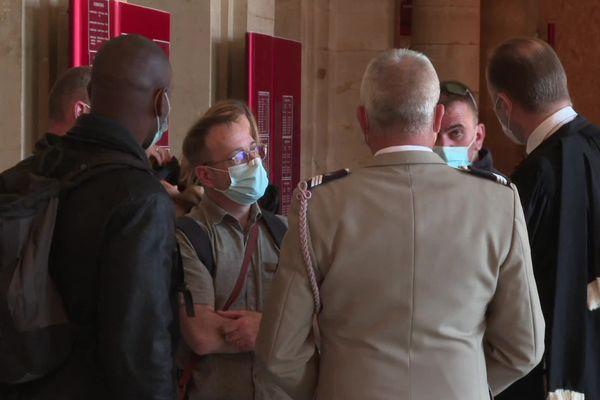 Les rescapés du bombardement sont venus témoigner à la barre de la cour d'assises de Paris.