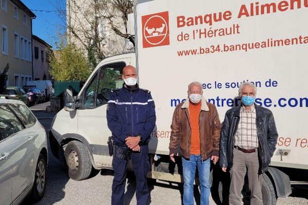 5 tonnes de marchandises remises par justice à Banque alimentaire de l'Hérault
